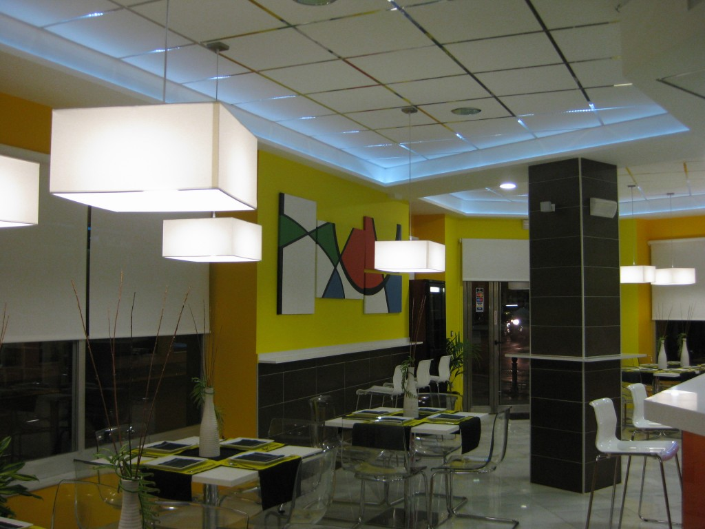Pintura mural empresa de pintores en madrid pinfersan - Empresa de pintores en madrid ...