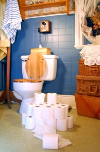 la pintura en baños y cocinas