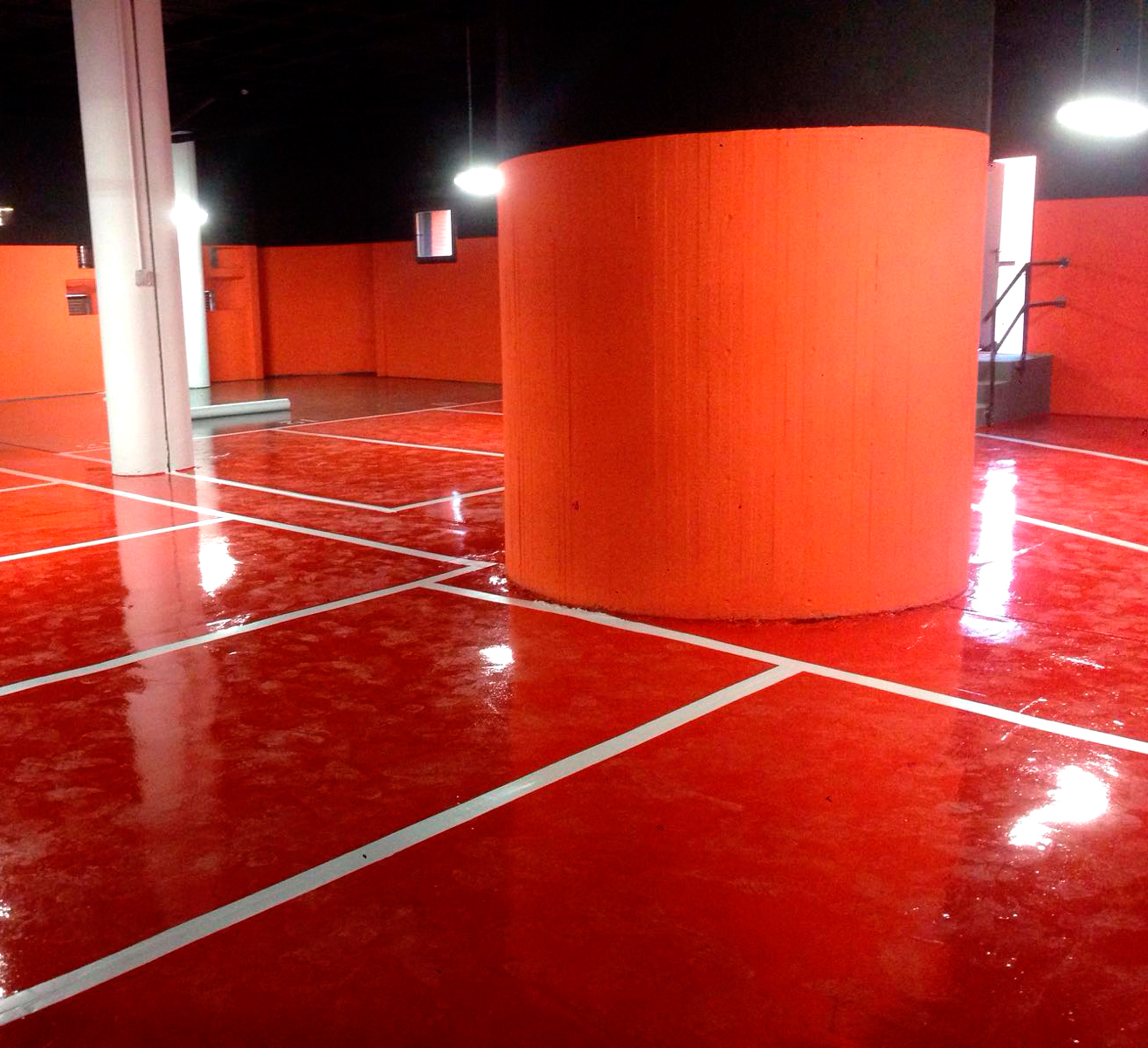 Pintura de parkings madrid pinfersan empresa de pintura - Empresa de pintura madrid ...
