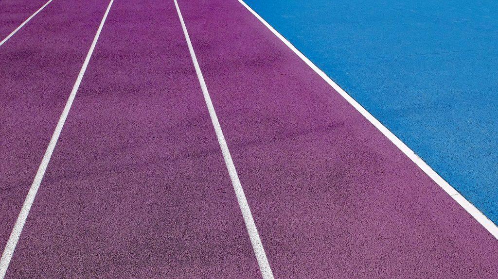 Pintura de pavimentos deportivos.